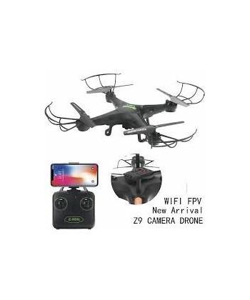 DRONE Z9 WIFI CONTROL ALTITUD 330 MM. NEGRO 2.4 GHZ
