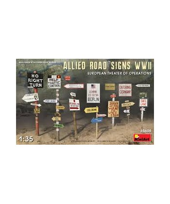 ROAD SIGNS WWII