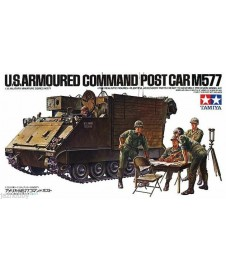 U.S. ARMOURED COMMAND POST CAR M577