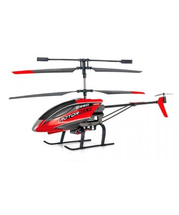 HELI ROTOR MAX 3 CANALES, GYRO CONTROL ALTITUD, LUCES LED