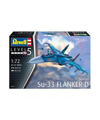 SU-33 FLANKER SUKHOI