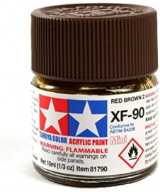PINTURA ACRILICA XF-90 RED BROWN 2