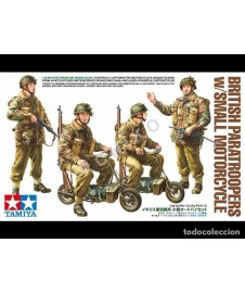 BRITISH PARATROOPERS MOTORCYCLE