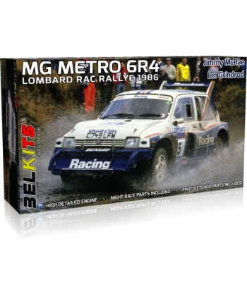 MG METRO 6R4 1986 RALLY MONTECARLOS, EN KIT