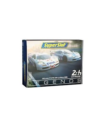 MCLAREN F1 GTR FINA TWIN PACK LE MANS 1996