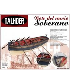 Bote del navio SOBERANO