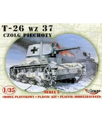 LIGHT TANK T-26 GERMAN