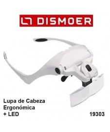 LUPA DE CABEZA ERGONOMICA CON LED