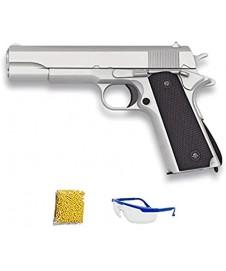 Pistola Golden Metal Negra Y Marron