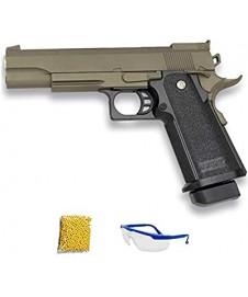 Pistola Metal Golden Negra