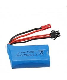 Bateria 6,4 V 750 Ma.