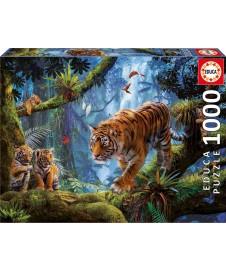 TIGRES EN EL ARBOL 1000 P.