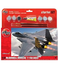 MCDONNEL DOUGLAS F-15 CON PINTURAS