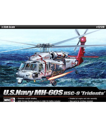 """HELICOPTERO MH-60S """"HSC-9 TROUBLE SHOOTER """""""
