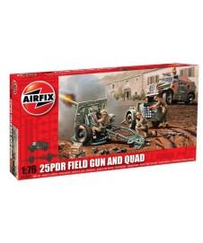25pdr Field Gun & Quad