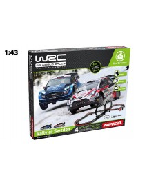CIRCUITO WRC RALLY OF SWEDEN 200X100 CM. 1/43