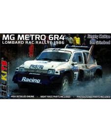 MG METRO 6R4 1986 1/24 EN KIT