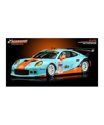 PORSCHE 911 991 RSR GT3 GULF 24H LE MANS