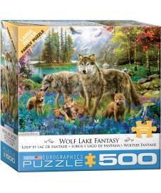 WOLF LAKE FANTASY 500 PIEZAS