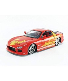 FAST AND FURIOUS JLS MAZDA RX-7 NARANJA