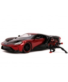 2017 FORD GT W/ MILES MORALES SPIDERMAN