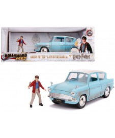 FORD ANGLIA 1959 AZUL W/ HARRY POTTER
