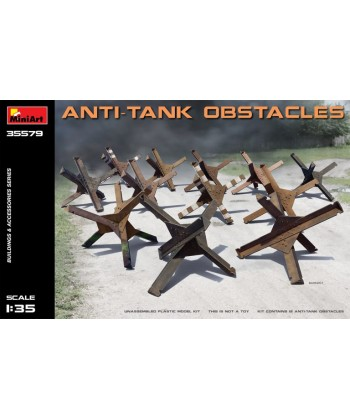 OBSTACULO ANTI TANQUE