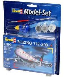 BOEING 747-200 ESC 1/390 CON PINTURAS