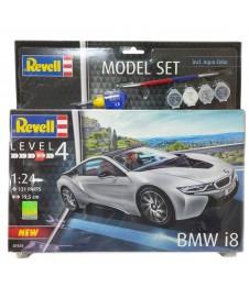 BMW I8 ESC 1/24 CON PINTURAS