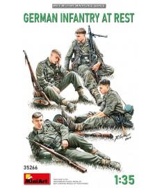 GERMAN INFANTRY AT REST