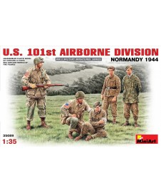 US. 101ST AIRBORNE NORMANDY 1944