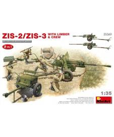 ZIS 2/ZIS 3 WITH LIMBER & CREW