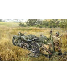 MOTORCYCLE SOVIET WITH 82 MM