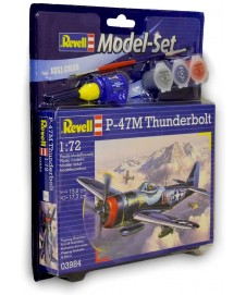 THUNDERBOLT P-47 M CON PINTURAS