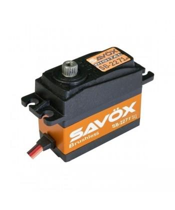 SERVO SAVOX DIGITAL BRUSHLESS 20 KG 0,065 7,4V