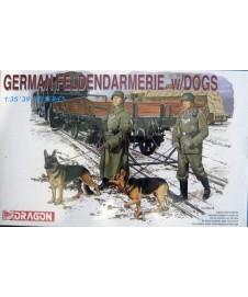 GERMAN FELDENDARMERIE DOGS