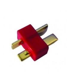 CONECTOR EN T, UNIDAD (MACHO - HEMBRA)