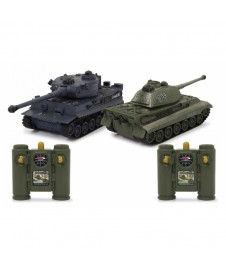 SET 2 TANQUES PANZER Y TIGER RC 2,4 GHZ