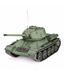 T34/85 TANQUE RUSO 1944 1/16 CON BATERIA Y CARGADOR