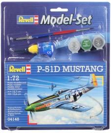 P-51D MUSTANG CON PINTURAS