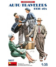 AUTO TRAVELERS 1930-40