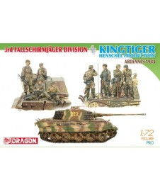 3RD FALLSCHIRMJAGER DIVISION + KINGTIGER