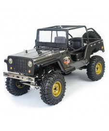 CRAWLER REALISTIC JEEP 1/10 4X4 RTR GRIS OSCURO
