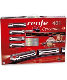 Set Tren Renfe Cercanias 451 Via Negra