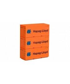 SET 3 CONTENEDORES HAPAG-LLOYD HO