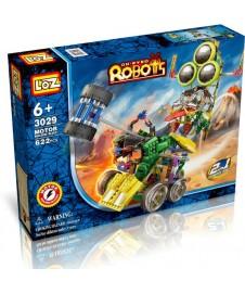 ROBOT ESPACIAL 2 EN 1 CON MOTOR 622 PIEZAS