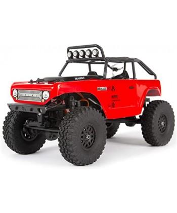 DEADBOLT SCX24 1/24 4WD RTR ROJO