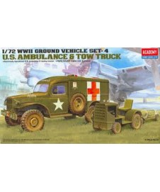 1/72 WWII GROUND VEHICLE SET - 4