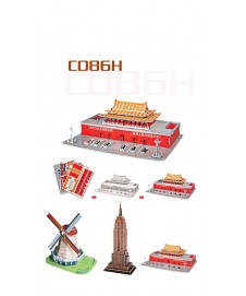 3 MINI ARCHITECTURE SERIES 100 PCS