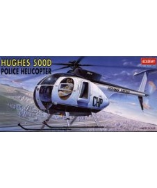 HUGHES 500D POLICE HELICOPTERO